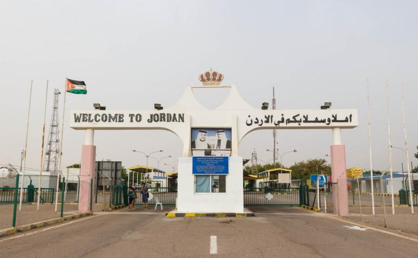 Israel Jordan Eilat Border