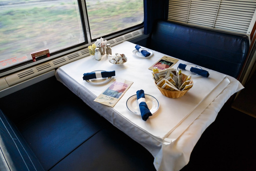 Amtrak California Zephyr Food