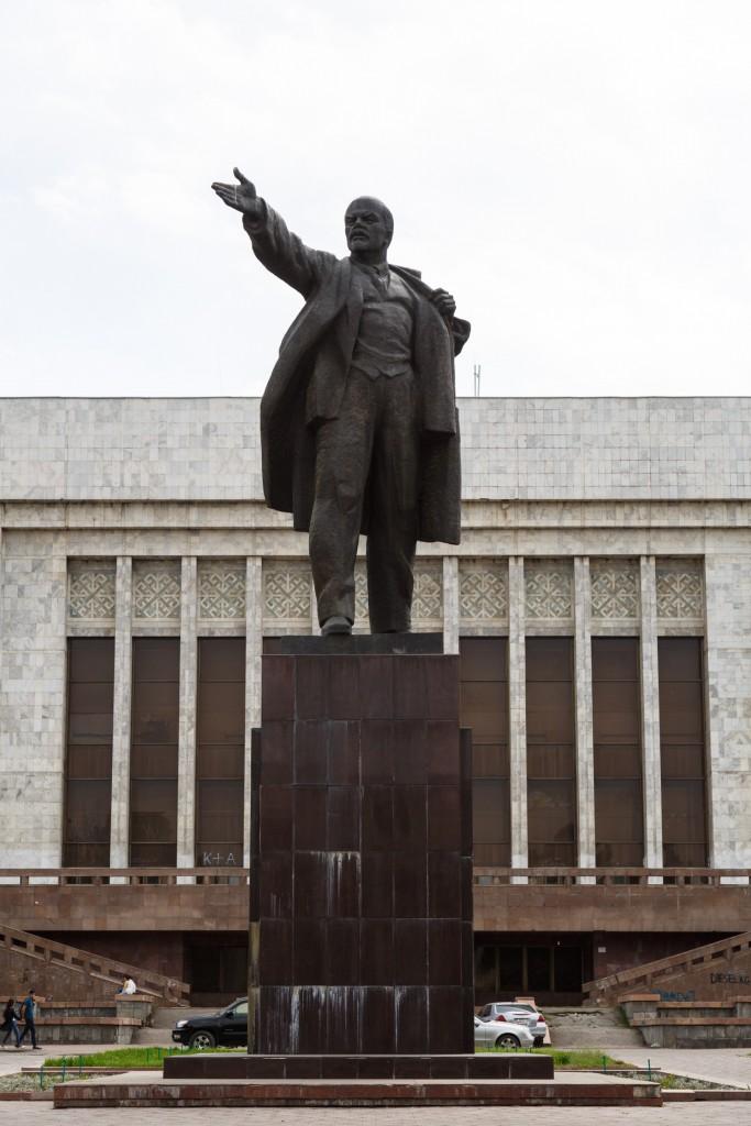 Bishkek Kyrgyzstan Lenin Statue